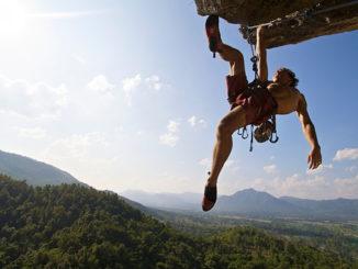 Rock climbing-